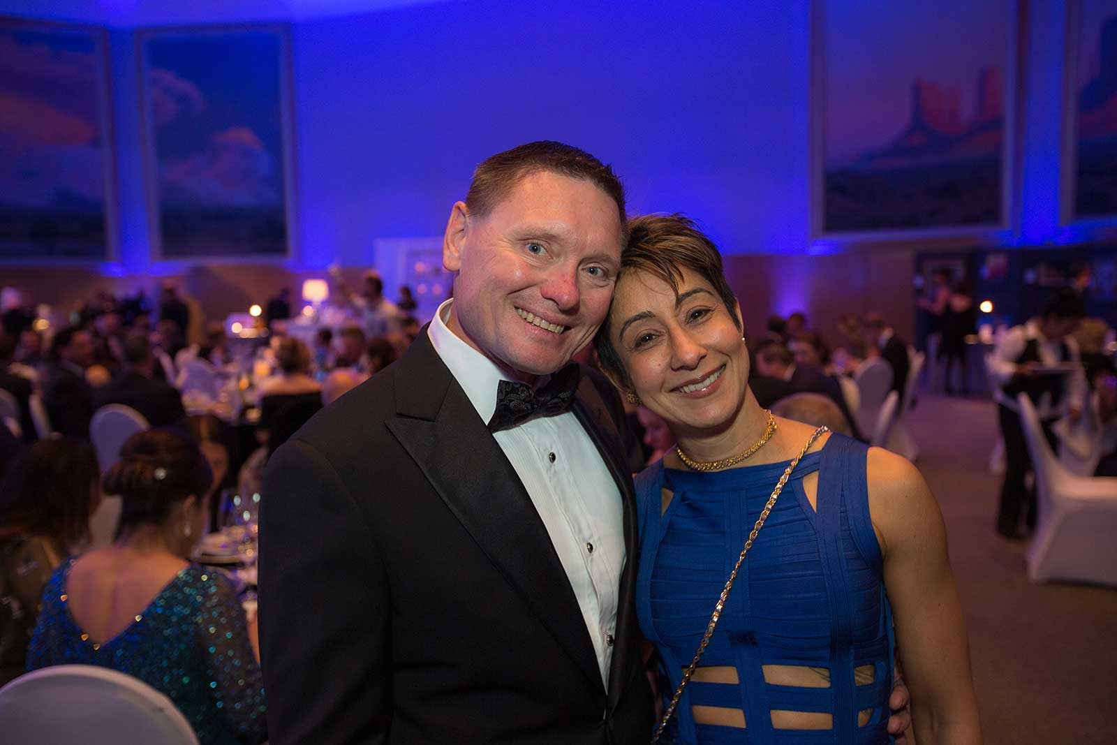 Couple at Saints Ball 2018